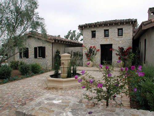 tuscan style home | New Home - Tuscan style! | Pinterest