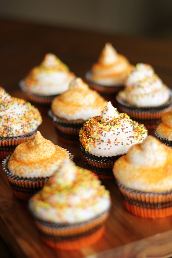 Pumpkin Spice Cupcakes | sweets. | Pinterest