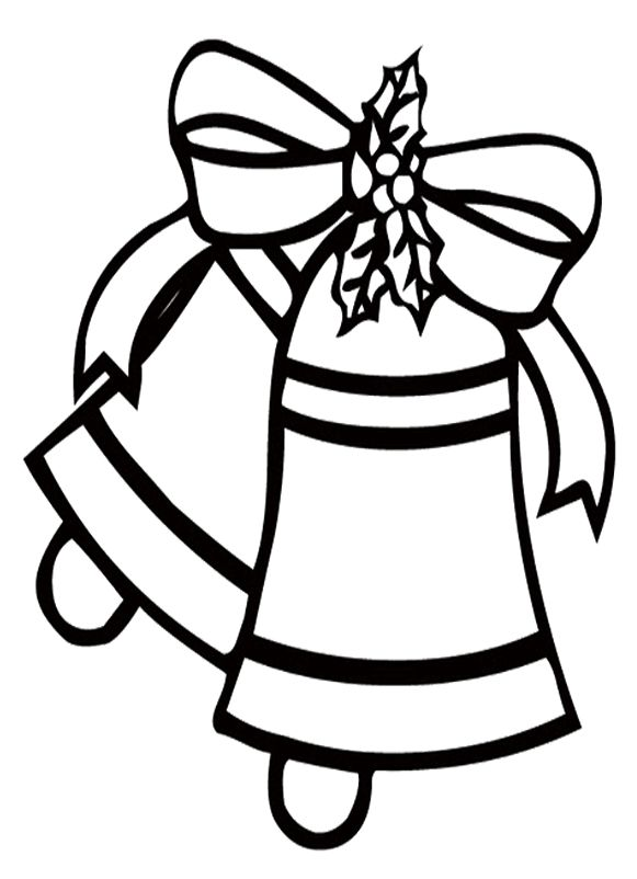 search results for  u201ccoloring pages of a christmas bell