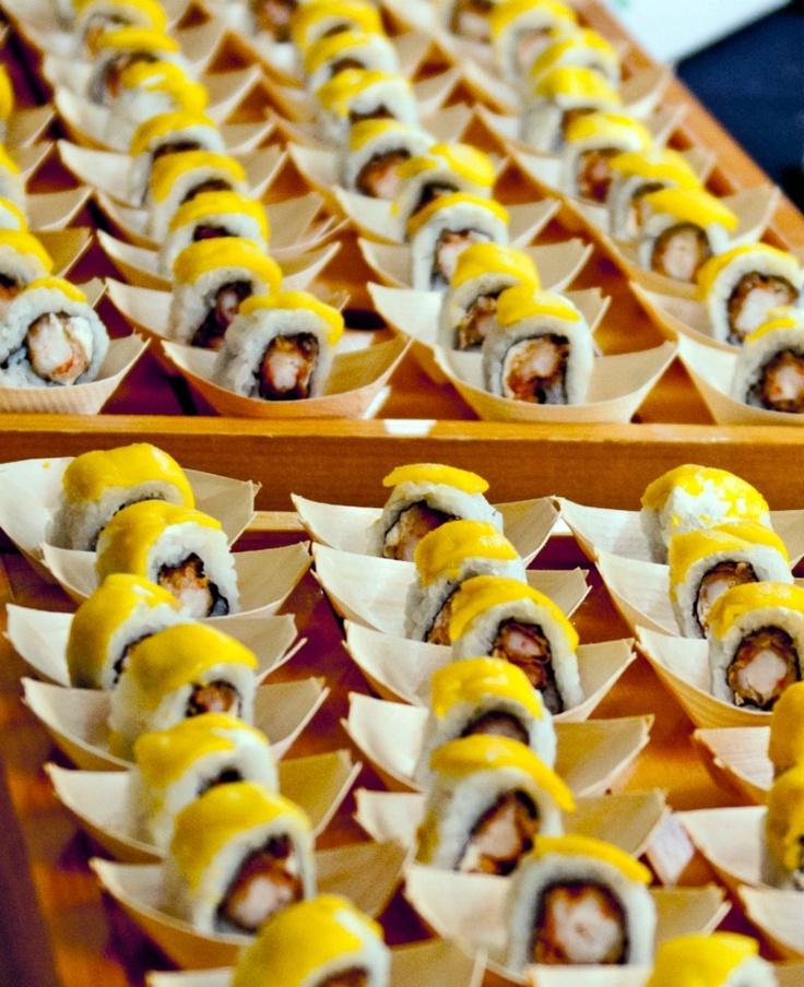 Mango sushi! | Sushi | Pinterest
