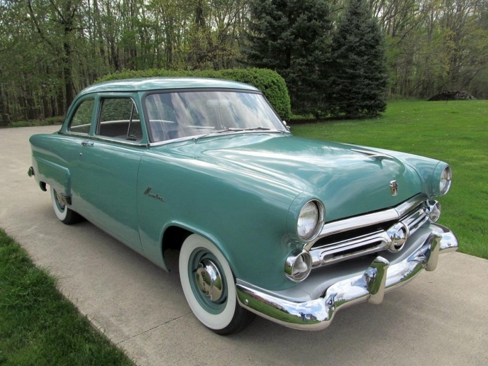 1952 ford mainline two door sedan 39 52 ford pinterest