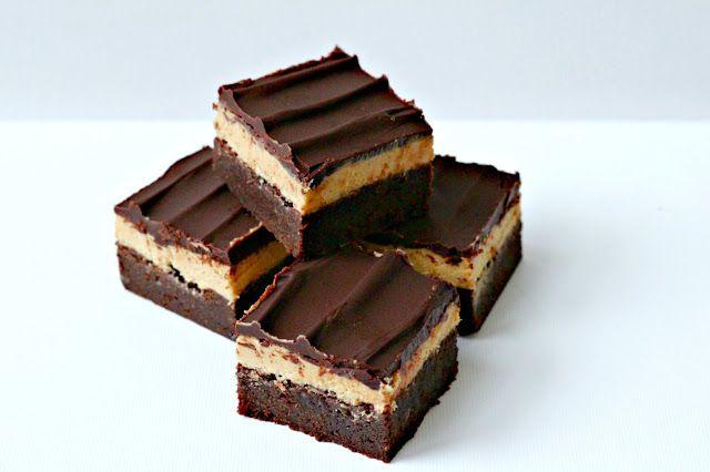 Milk and Honey: Triple Decker Peanut Butter Brownies