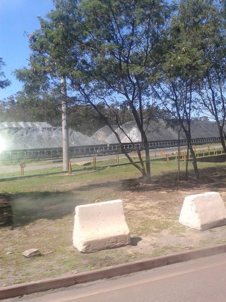 Fiscais em visita técnica na Vale no Complexo do Tubarão, Vila Velha, ES, em 12/9/14