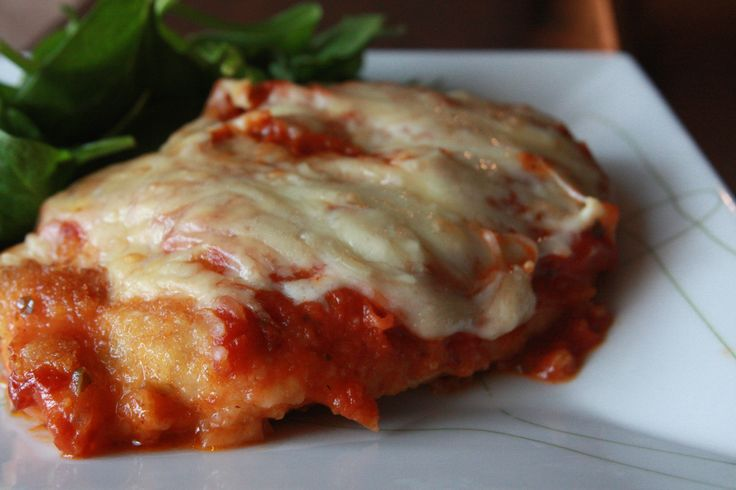Easy Chicken Parmigiana | yummy | Pinterest