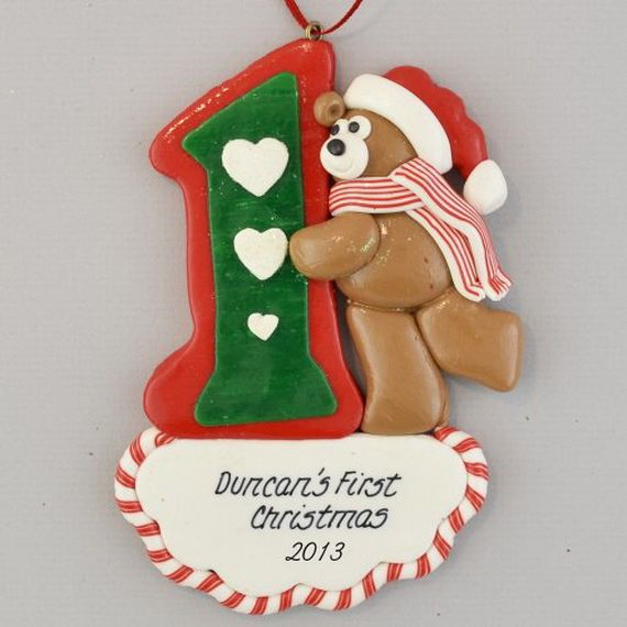 Baby's First Christmas Ornament Ideas   Decorating Ideas   Pinterest