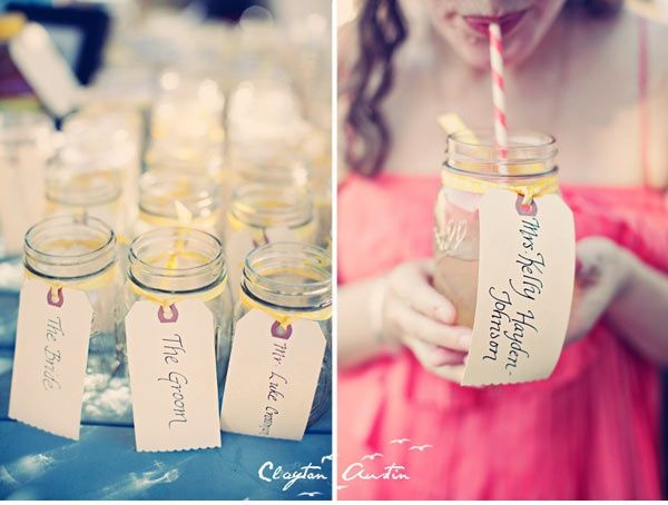 Like to look more youthful? Click this link Right now: http://bit.ly/HzgAhk ..Cute idea for drinks at the wedding