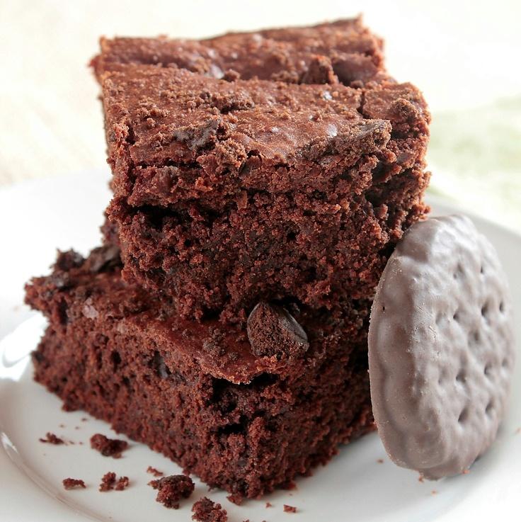 thin mint brownies | Food | Pinterest