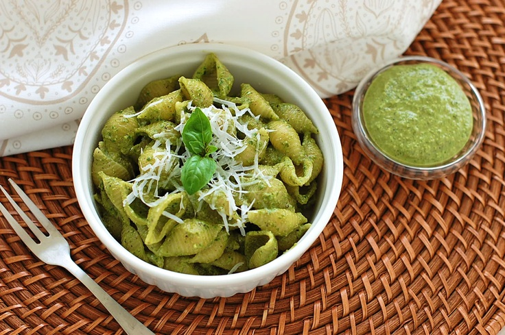 Lighter Pesto Recipe — Dishmaps
