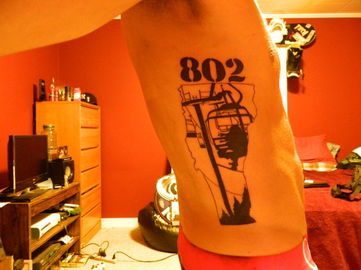 vermont chairlift area code tattoo vermont pinterest. Black Bedroom Furniture Sets. Home Design Ideas