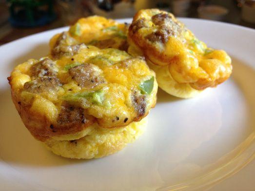scrambled egg muffins   yumsville   Pinterest
