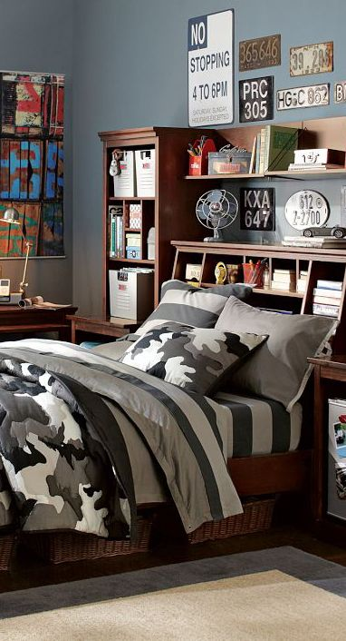 Classic camo bedding teen bedrooms teen boy bedding for Boys camouflage bedroom ideas