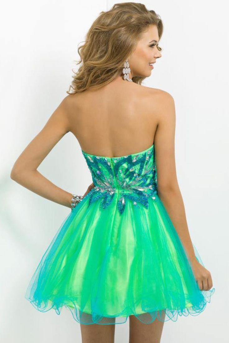 pinterest green dress