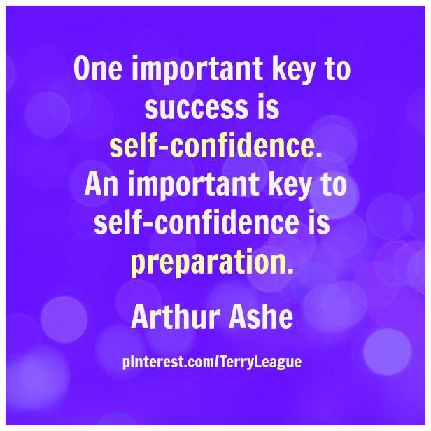 Preparation  self-confidence  successQuotes About Self Confidence And Success