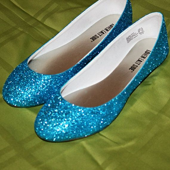 something blue bridal shoes wedding flats by ashleybrooks1984