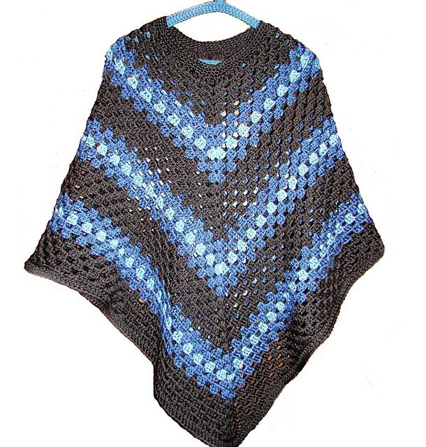 Free Crochet Poncho Patterns Australia : Adult Poncho crochet pattern Crochet - Clothing Ponchos ...