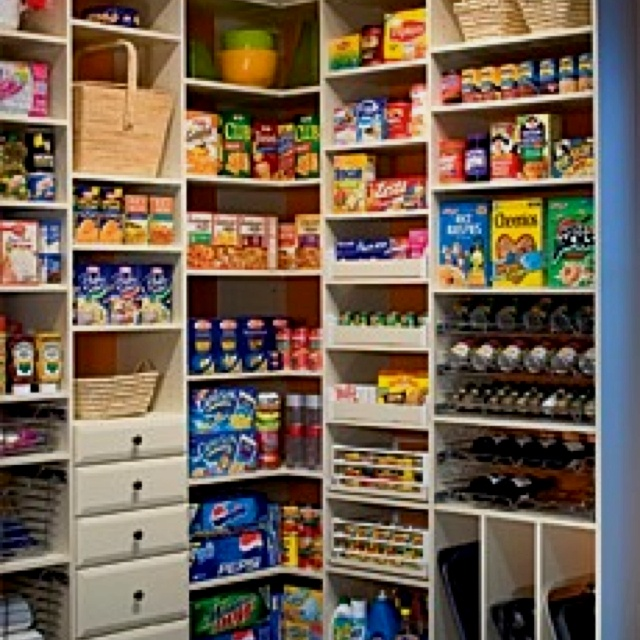 Walk In Pantry Ideas