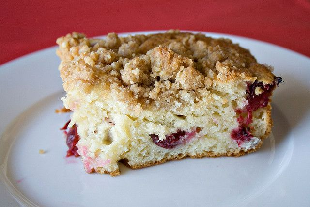 cranberry coffee cake | breakfast | Pinterest