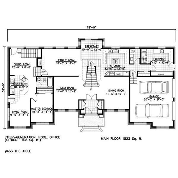 House plans and design modern house plans with mother in for Home plans with mother in law suite
