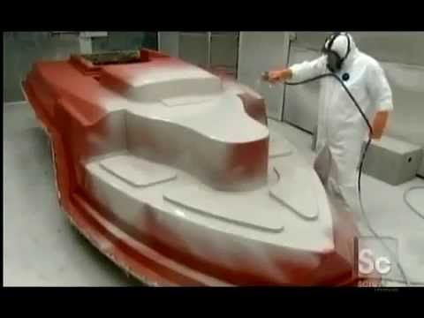 How it 39 s made fiberglass boats videos pinterest for How is fiberglass made