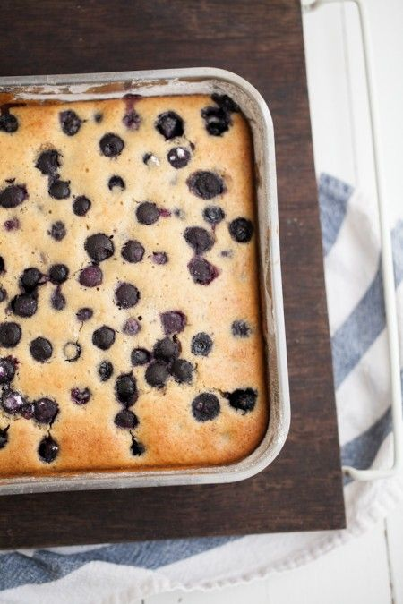 Blueberry Maple Corn Cake. This sounds & looks scrumptious. I can't ...