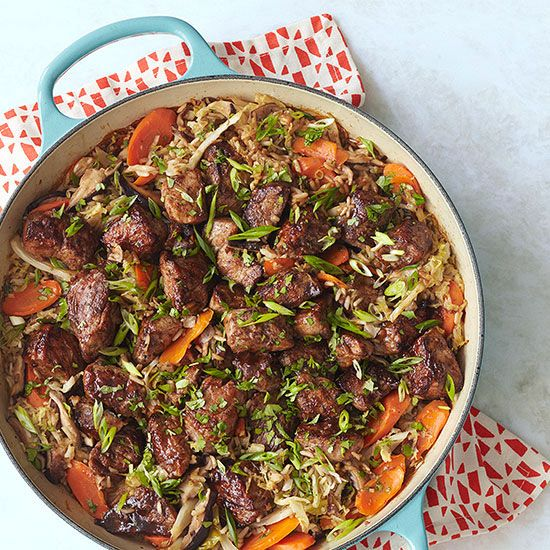 Hoisin-Glazed Pork Mu Shu Casserole | Recipe