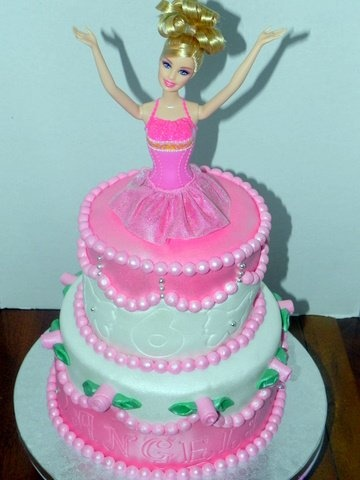 Birthday Cake Images For My Daughter : My daughter s Barbie Birthday Cake! Cakes Pinterest