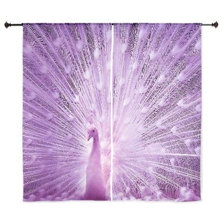Purple peacock 60 quot curtains peacock curtains
