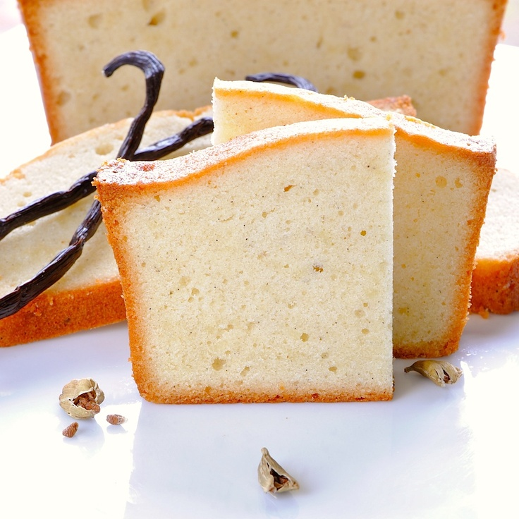 More like this: pound cakes , vanilla and beans .