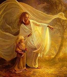 Heavenly Hand - greg Olsen