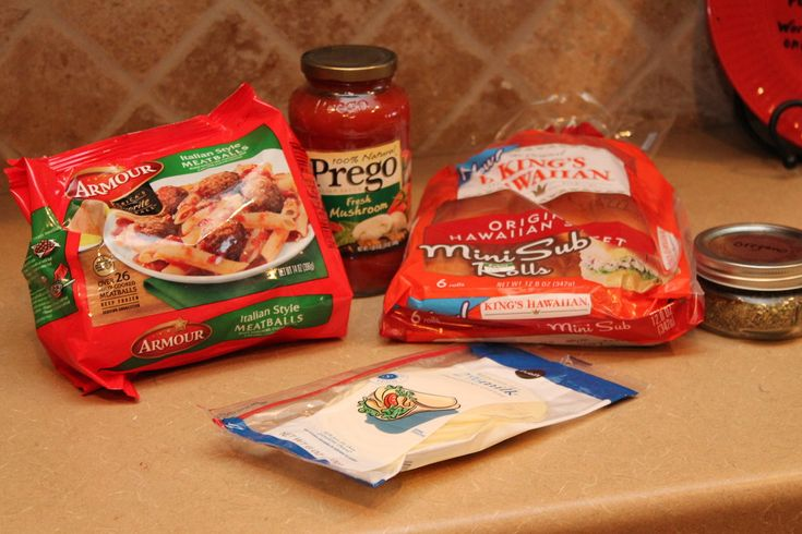 mini meatball sub sandwiches | Dinner | Pinterest