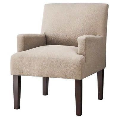Dolce Upholstered Accent Arm Chair Brown