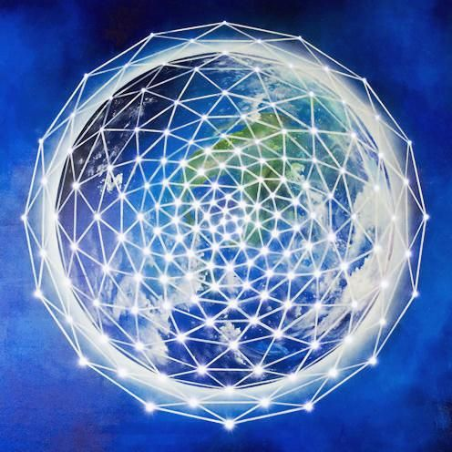 The grid of energy around Mother Earth