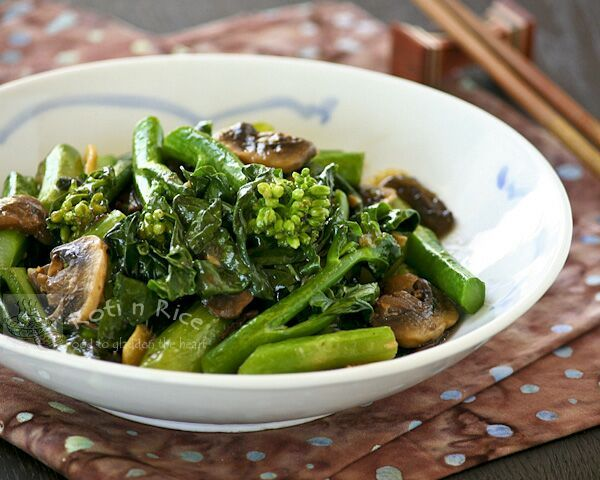... to a tender crisp Stir Fry Gai Lan (Chinese Broccoli) - Roti n Rice