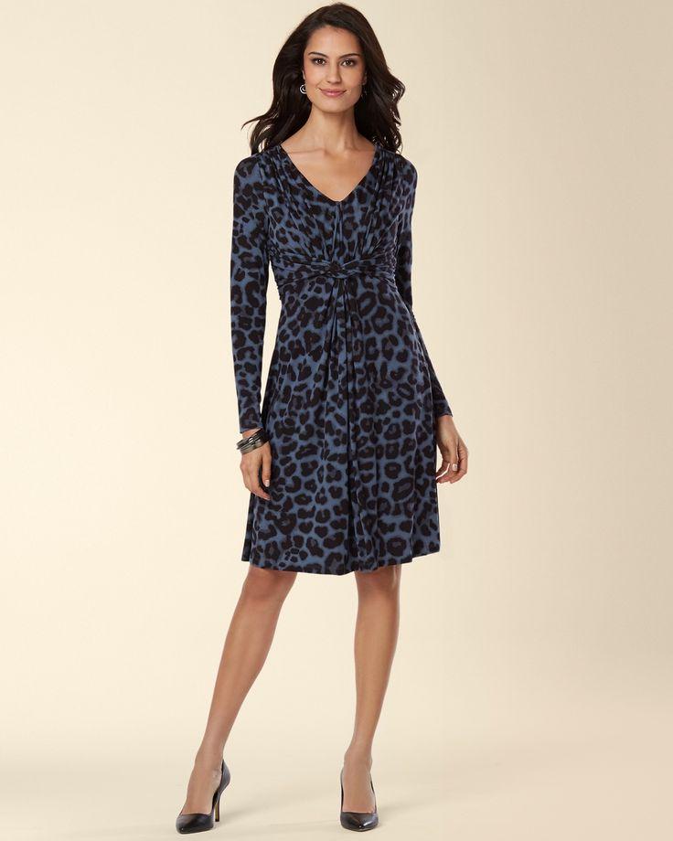 products amalia knot front dress slate