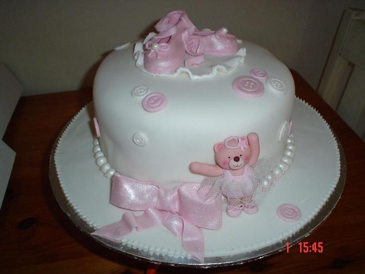 ballet baby shower cake dance cake pinterest