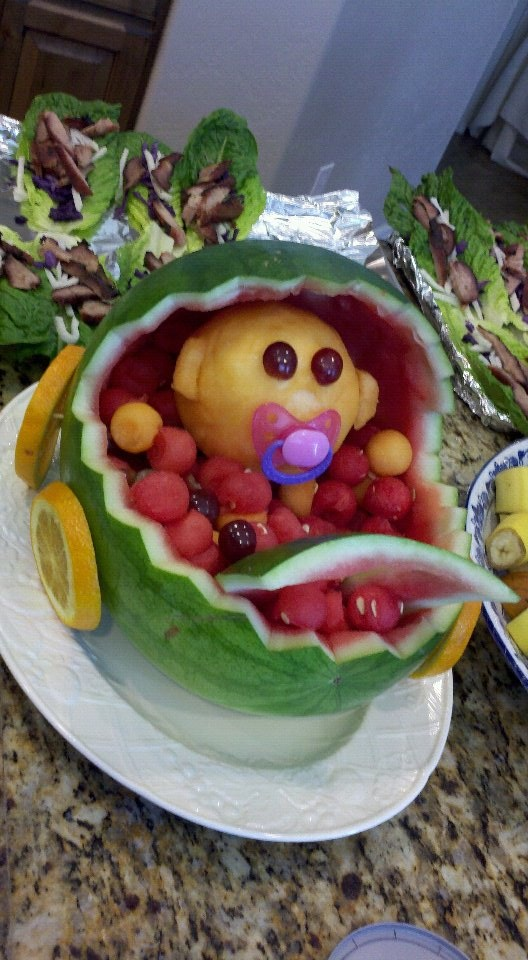baby shower fruit basket birthday parties and shower ideas pinter