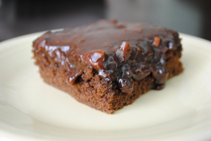 The Best Chocolate Sheet Cake Ever! | Baking and Cooking | Pinterest