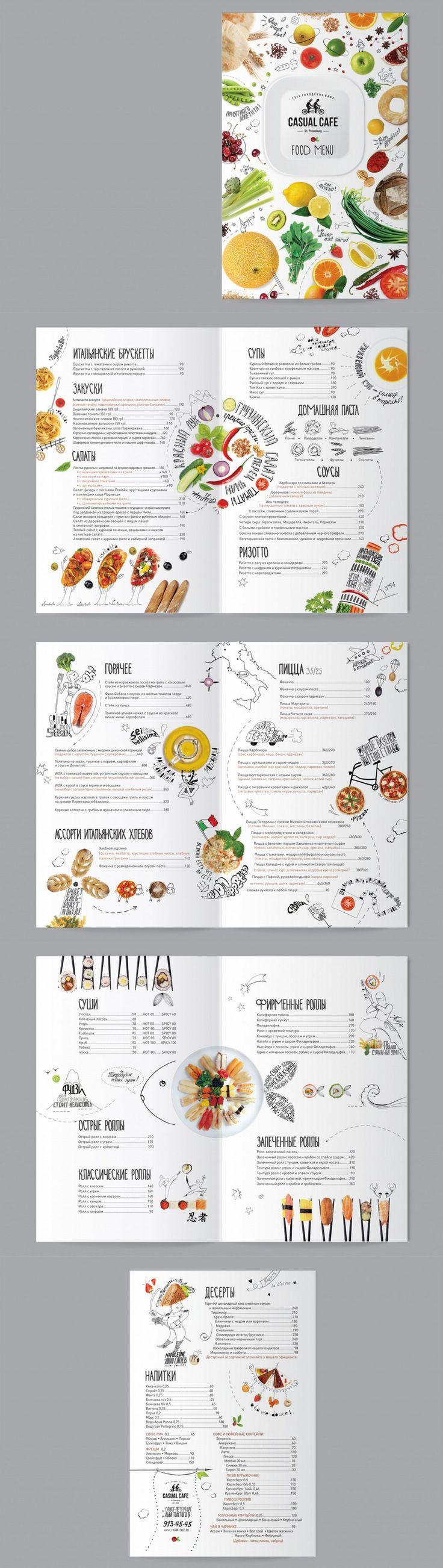 Как сделать свой дизайн меню