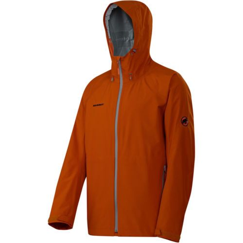 NEW Mammut Juho Jacket - Men's LARGE - Ginger/Smoke - Gore-Tex