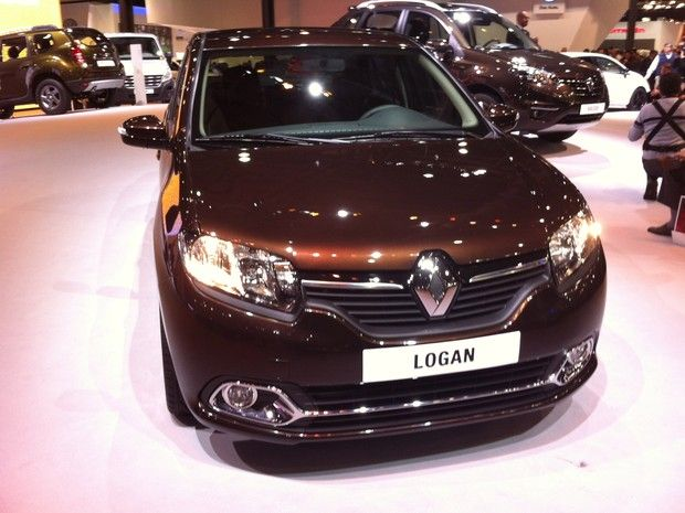 carro novo: Renault Logan 2014