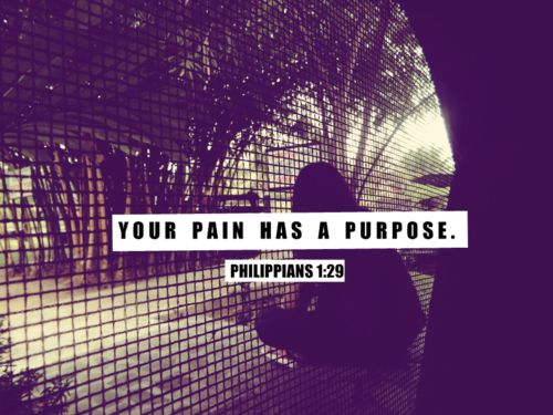 Power in your pain.