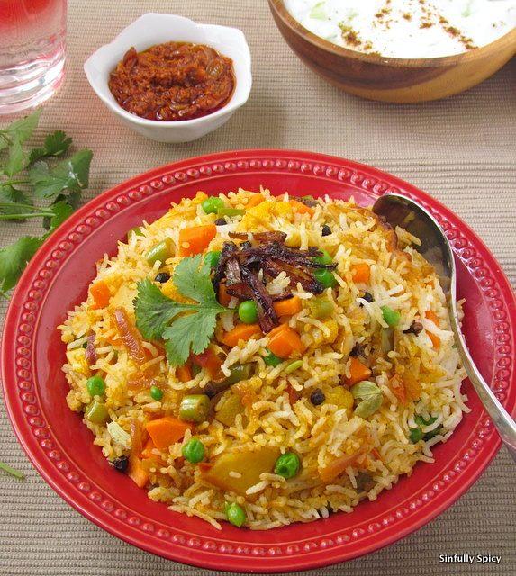 Vegetable Biryani - Need to make this soon. Looks delish!