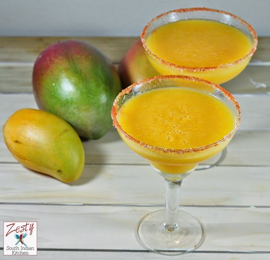 Mango Margarita - Zesty South Indian Kitchen