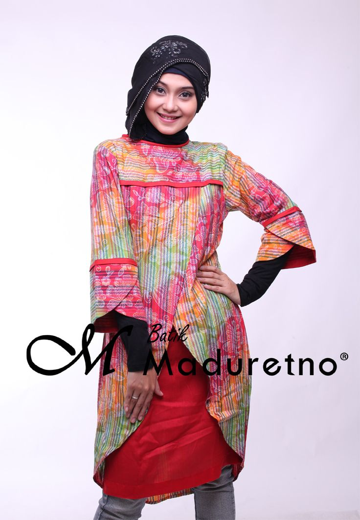 Short Dress Batik Pesta Modern   Pusat Batik Madura   Pinterest