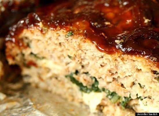 Spinach Stuffed Meatloaf, Yum :) | Favorite Recipes | Pinterest
