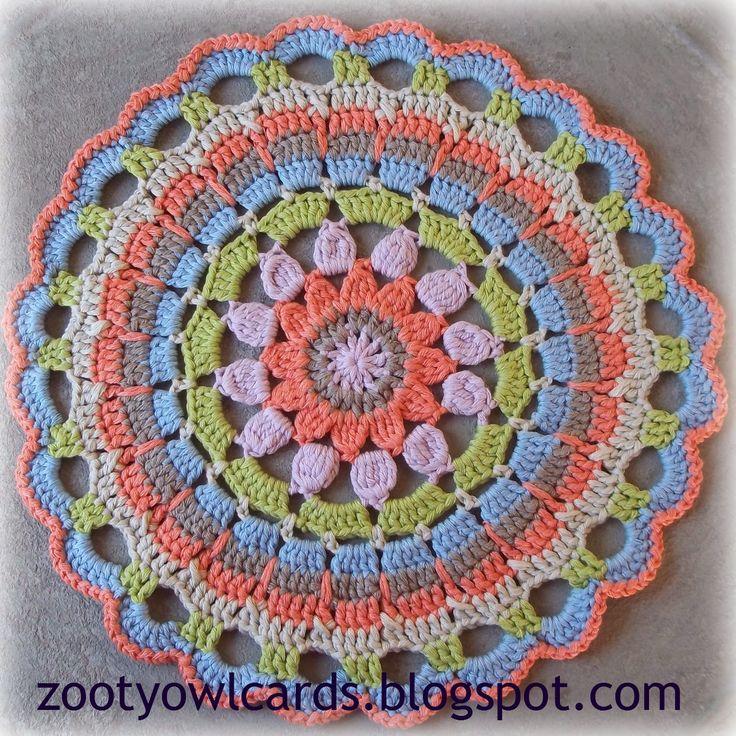 crochet mandala crochet Pinterest