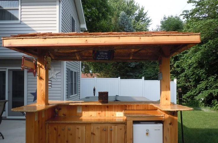 Pin By Michael Kendlick On Backyard amp Tiki Bar Pinterest