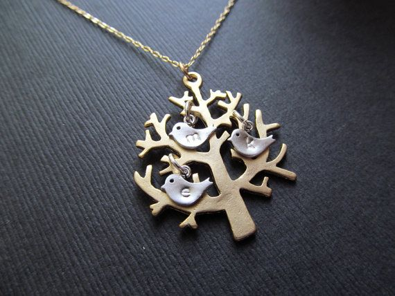 Personalized Mothers Jewelry Necklace FAMILY by BlueDoveStudio, $31.50