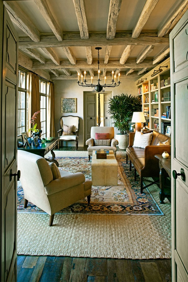 Just love this living room swiss chalet style pinterest