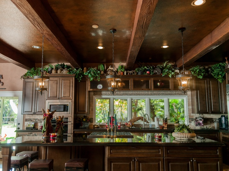 kitchen island rustic pendant lighting kitchen pinterest